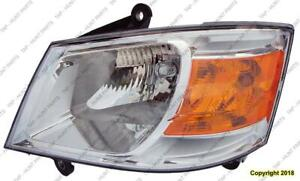Head Light Driver Side Dodge Grand Caravan 2008-2010