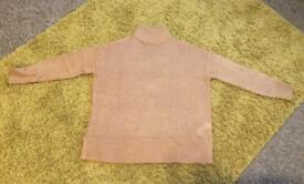 Brand new Ladies New look Jumper- light brown- medium