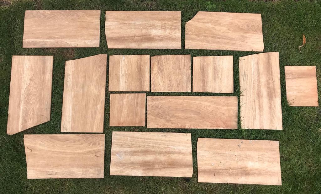 Oak Wood Floor Tiles Odd Shapes Sizes In Norwich Norfolk