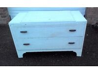REDUCED Vintage Oak Dressing Table or Chest of Drawers