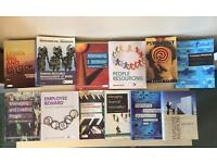 Collection of human resource books