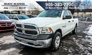 2017 Ram 1500 SXT 4X4, QUAD CAB, KEYLESS ENTRY, POWER WINDOWS, 5
