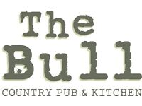 FULL TIME BAR & WAITING STAFF REQUIRED FOR THE BULL BRENTWOOD