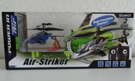 Silverlit Air-Striker remote control helicopter with 2 channel control
