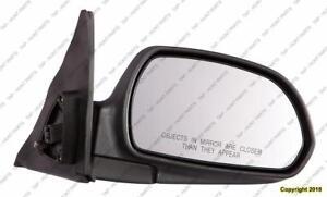 Door Mirror Power Passenger Side Heated Gls-Gt Models Hyundai Elantra 2001-2006