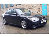 Immaculate condition - BMW 525D MSport, Full Leathers, Auto Gearbox, Satnav, Onboard computer system