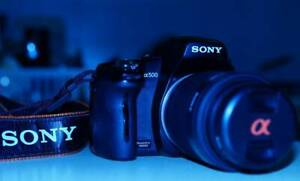 SONY DSLR A500 CAMERA Glenwood Blacktown Area Preview