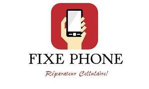Réparation cellulaire! 24h/24h 7/7 Vous avez une urgence, n'hésitez pas! 514-928-8297