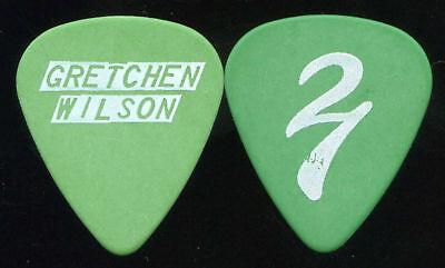 GRETCHEN WILSON 2006 24/7 Tour Guitar Pick!!! custom concert stage Pick #1
