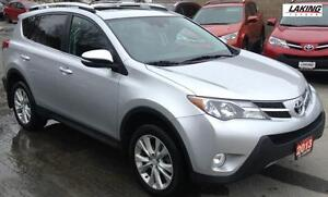 2013 Toyota RAV4 Limited ALL WHEEL DRIVE NAVIGATION REMOTE START