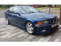 BMW E36 M3 saloon 3.0 5speed 80k FSH, PRICE REDUCED, INVESTMENT, 4 OWNERS, BIG SERVICE, ALL DONE