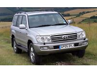 Wanted 2003 onwards facelift Toyota Landcruiser 4.2 diesel auto