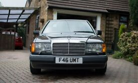1989 Mercedes W124 300CE Pillarless Coupe