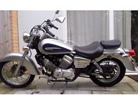 [L] HONDA Shadow VT-125 - Silver 125cc Learner Legal 2002 Reg Low Miles With Upgrades!! [L]