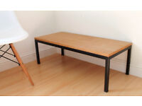 Industrial Style Coffee Table / Low Bench
