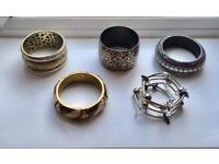Bundle of Fashion Bangles (No.4)