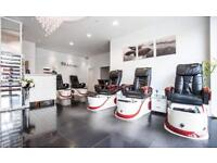 """ HIGH PAY "" beautician needed! Nails manicure pedicure massage waxing spray tanning"