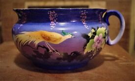 Chamber-pot beautifully handpainted L&S Ltd (of The Potteries) c.1920