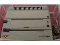 GBC Docubind P400 Comb Binder System - Electronic - Heavy Duty - COLLECTION ONLY