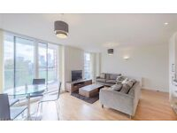 Huge 2 Bed 2 Bath Duplex Apartment in Canary Wharf, E14, Hallmark Court, Concierge, Balcony- VZ
