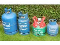 Calor Gas bottles EMPTY £15 EACH. Deposit normally £40 each