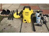 KARCHER K2 pressure washer with accessories