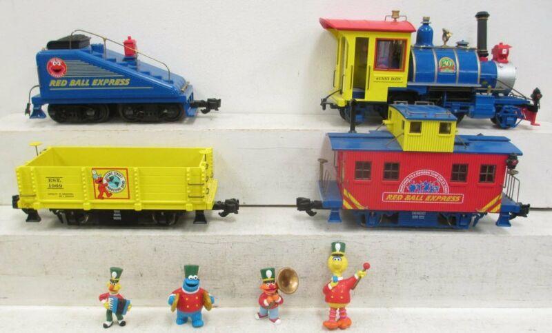 Aristo-Craft 28412 Sesame Street Old Timer Steam Freight Set 30th Anniv. LIMITED