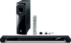 Yamaha YSP-3300 Soundbar with Power Wireless Subwoofer - Boxed - Ultimate Home Cinema Without Wire!