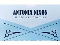 Antonia Nixon Barbering