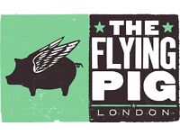 HEAD CHEF & Chef de Partie job here at The Pig!!!