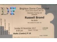 Russell Brand Ticket Brighton Dome