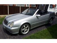 2000 Mercedes CLK320 Cabriolet Avantgarde