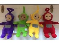 Talking Teletubbies Soft Toys - Never Used - £25 ONO