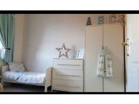 Nursery Furniture. wardrobe, drawers, toddler bed.