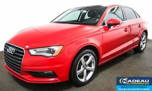 2015 Audi A3 2.0T Komfort QUATTRO  TOIT OUVRANT  MAGS 17