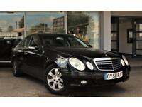 MERCEDES-BENZ E CLASS 2.1 E220 CDI CLASSIC 4d 168 BHP + TOP SPEC WITH ALL THE EXTRAS (black) 2008
