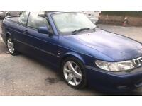 Saab 93 convertable turbo mot cheap!!!!!!