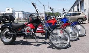 Soar Hobby has BAD BOY CHOPPER EBike  by Belize Black Available $2,399.00+tax