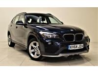 BMW X1 2.0 XDRIVE20D SE 5d 181 BHP + AIR CON + AUX CONNEC (blue) 2014