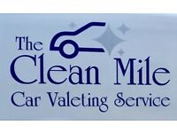 The Clean Mile - mobile car valet service