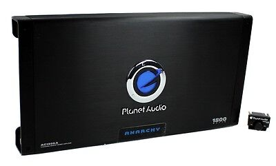 New PLANET AUDIO AC1800.5 1800W 5 Channel Car Amplifier Power Amp + Remote