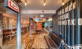 Front of House Staff in Truro Hubbox (Full/Part Time)