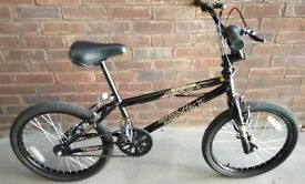 """BMX X-Rated Exile 2 Bike with 360-degree handlebars 20"""" Wheels in Excellent Condition"""