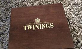 Wooden Twining's Tea caddy