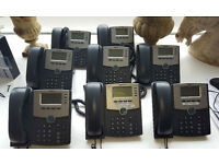 Cisco SPA504G Ip Desk office phone 2 available £30 for one, £50 for the pair