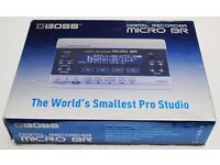 Boss Digital Recorder Micro-BR Boxed £110
