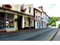 Double fronted retail shop in the heart of Ironbridge