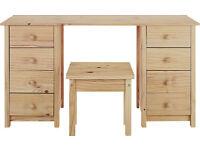 New Scandinavia Dressing Table - Pine