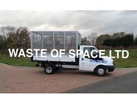 WASTE OF SPACE LTD RUBBISH REMOVAL, HOUSEHOLD CLEARANCES, SAME DAY SERVICE 07762334527