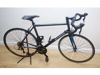 MENS ROAD / RACER BIKE BTWIN TRIBAN 5 CARBON FORKS EXCELLENT CONDITIONLITTLE USE RRP £449